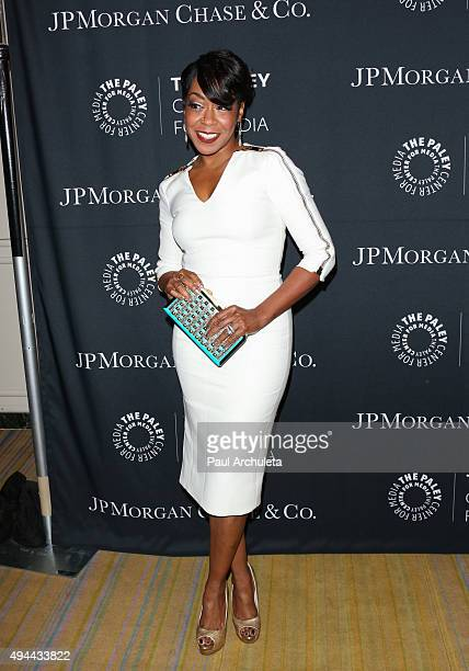 Actress Tichina Arnold attends the Paley Center For Media's Tribute To AfricanAmerican Achievements In Television at the Beverly Wilshire Four...