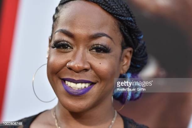Actress Tichina Arnold attends the premiere of Columbia Picture's 'The Equalizer 2' at TCL Chinese Theatre on July 17 2018 in Hollywood California