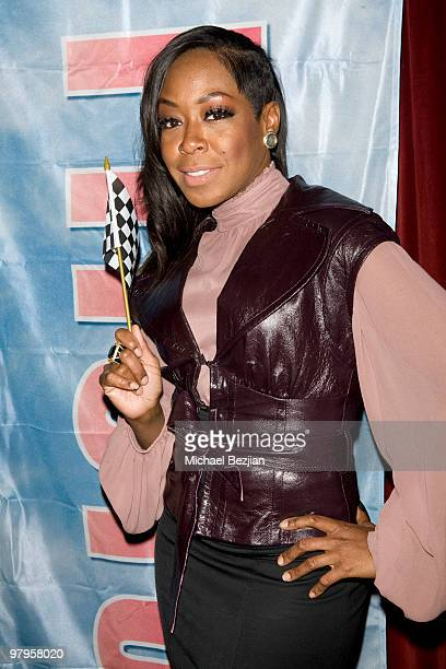 Actress Tichina Arnold attends The Rally For Kids With Cancer Scavenger Cup Reception at Beso on March 22 2010 in Hollywood California