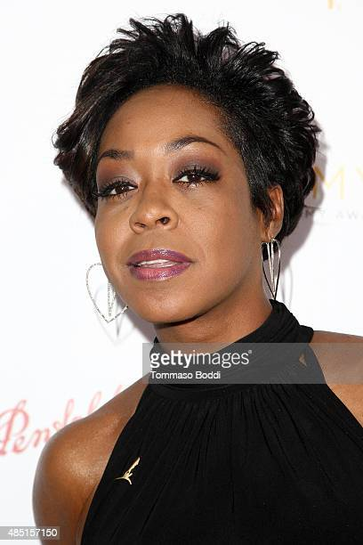 Actress Tichina Arnold attends the Television Academy's Performers Peer Group Hold Cocktail Reception To Celebrate 67th Emmy Awards held at Montage...