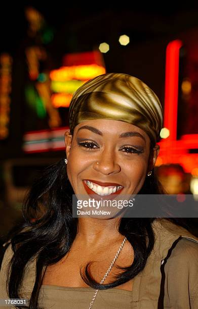 Actress Tichina Arnold who plays Aisha in the film Civil Band arrives for the screening of Civil Band during the Pan African Film Arts Festival on...
