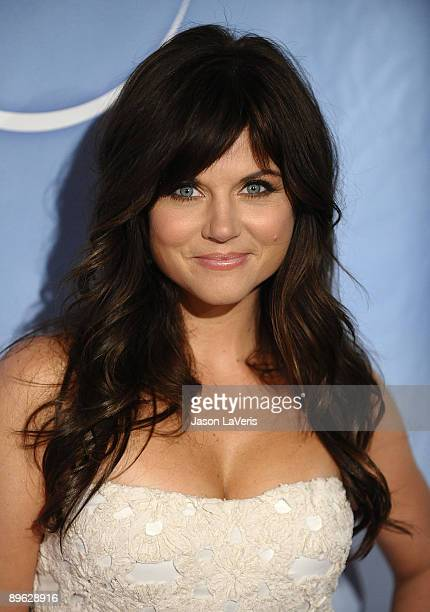 Actress Tiffani Thiessen attends NBC and Universal's 2009 TCA press tour allstar party at The Langham Resort on August 5 2009 in Pasadena California