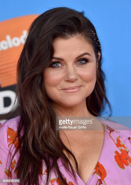 Actress Tiffani Thiessen attends Nickelodeon's 2018 Kids' Choice Awards at The Forum on March 24 2018 in Inglewood California