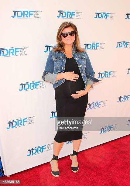 """Actress Tiffani Thiessen attends the advance screening of """"Cinderella"""" benefiting Los Angeles JDRF at Walt Disney Studios on March 8, 2015 in..."""