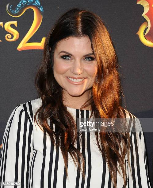 Actress Tiffani Thiessen attends the premiere of Descendants 2 at The Cinerama Dome on July 11 2017 in Los Angeles California
