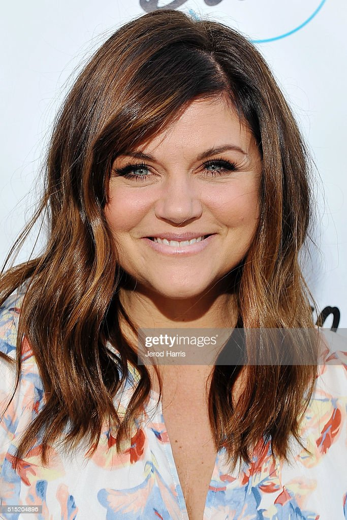 Tiffani Thiessen Hosts Grand Opening Of Bowlero Woodland Hills