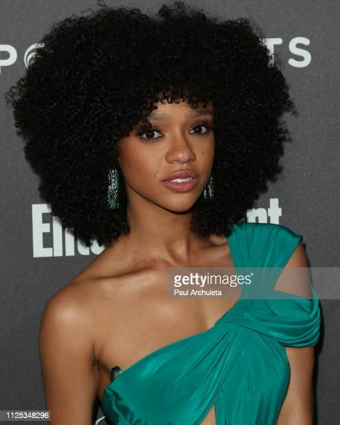 Actress Tiffany Boone attends the Entertainment Weekly PreSAG party at Chateau Marmont on January 26 2019 in Los Angeles California
