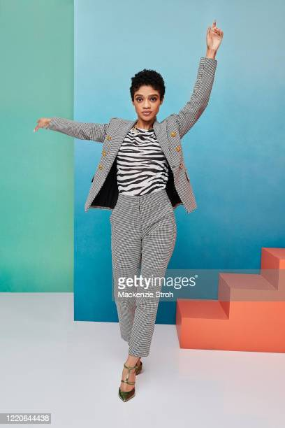 Actress Tiffany Boone is photographed for Entertainment Weekly Magazine on February 27, 2020 at Savannah College of Art and Design in Savannah,...