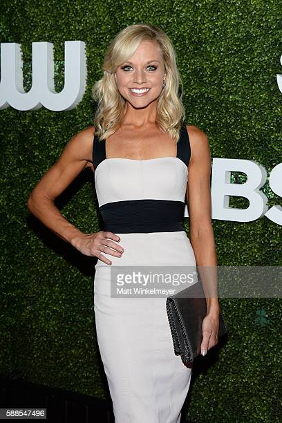 Actress Tiffany Coyne arrives at the CBS CW Showtime Summer TCA Party at Pacific Design Center on August 10 2016 in West Hollywood California