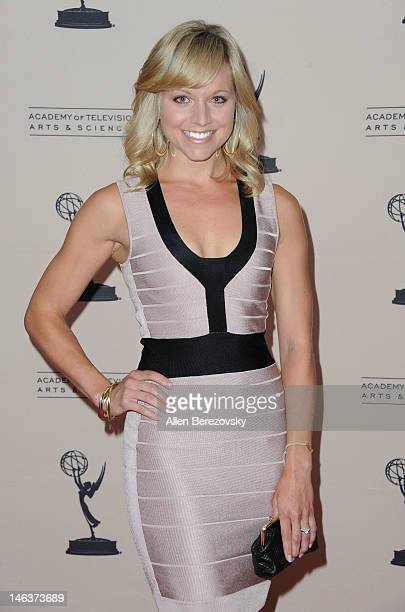 Actress Tiffany Coyne attends the 39th Daytime Entertainment Emmy Awards Nominees Reception at SLS Hotel on June 14 2012 in Beverly Hills California