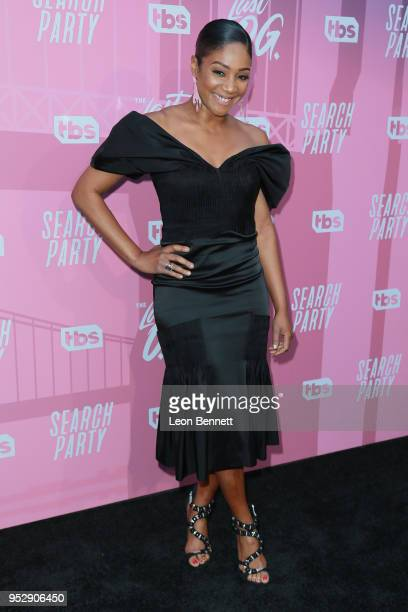 Actress Tiffany Haddish arrives at the TBS' FYC Event For The Last OG And Search Party at Steven J Ross Theatre on the Warner Bros Lot on April 29...