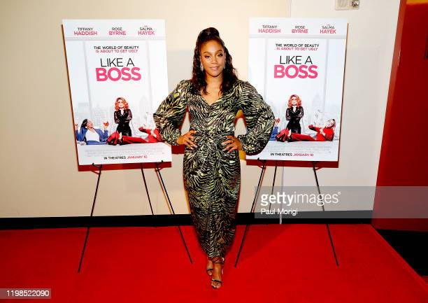 Actress Tiffany Haddish attends a special hometown Washington DC screening of Like A Boss with Tiffany Haddish at the AMC Georgetown on January 09...