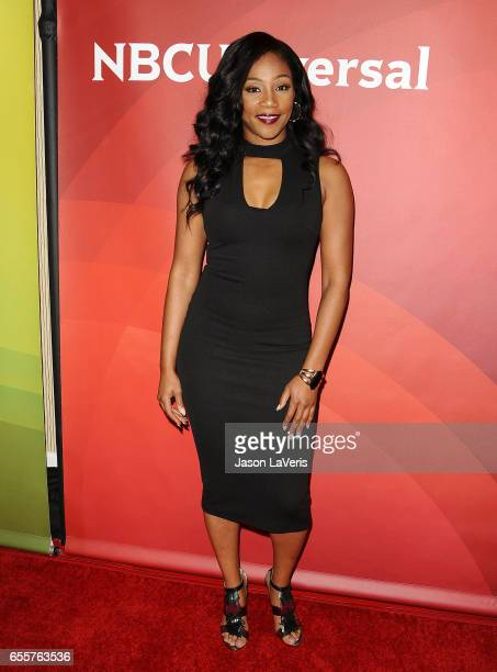 Actress Tiffany Haddish attends the 2017 NBCUniversal summer press day The Beverly Hilton Hotel on March 20 2017 in Beverly Hills California