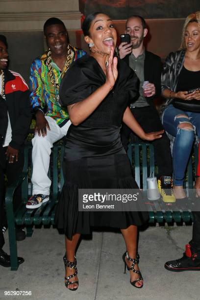 Actress Tiffany Haddish attends the after party during the TBS' FYC Event For The Last OG And Search Party at Steven J Ross Theatre on the Warner...