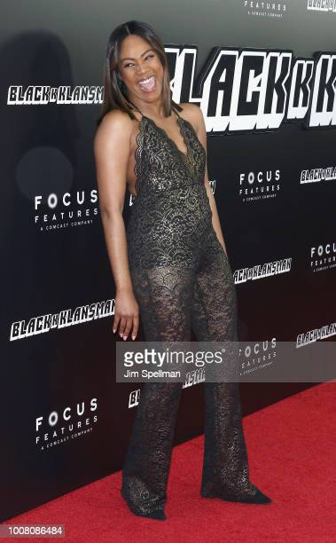 Actress Tiffany Haddish attends the 'BlacKkKlansman' New York premiere at Brooklyn Academy of Music on July 30 2018 in New York City