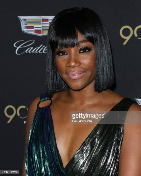 Actress Tiffany Haddish attends the Cadillac celebration for the 90th Annual Academy Awards at Chateau Marmont on March 1 2018 in Los Angeles...