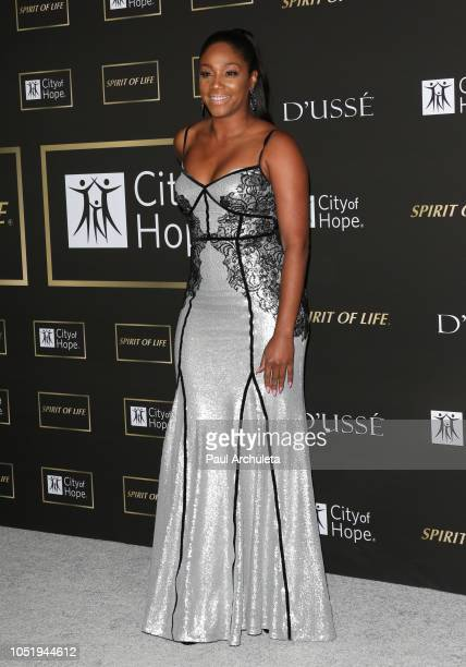 Actress Tiffany Haddish attends the City Of Hope Gala on October 11 2018 in Los Angeles California