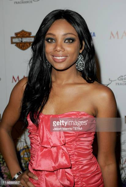 Actress Tiffany Hines arrives at the 11th annual Maxim Hot 100 Party with HarleyDavidson ABSOLUT VODKA Ed Hardy Fragrances and ROGAINE held at...