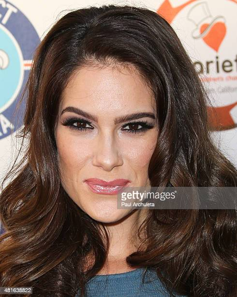 Actress Tiffany Michelle attends the 5th Annual Variety Texas Hold 'Em poker tournament benefiting The Children's Charity Of SoCal at Paramount...
