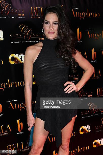 Actress Tiffany Michelle attends the City Gala Fundraiser 2016 at The Playboy Mansion on February 15 2016 in Los Angeles California