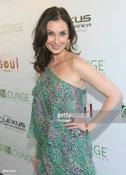 Actress Tiffany Paige arrives at Green Lounge Eco Luxury Experience Earth Day Awards Presented By Lexus Santa Monica on April 22 2010 in Santa Monica...