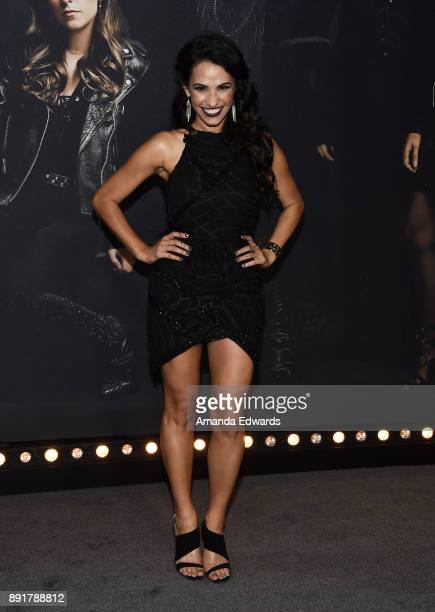 Actress Tiffany Smith arrives at the premiere of Universal Pictures' 'Pitch Perfect 3' on December 12 2017 in Hollywood California