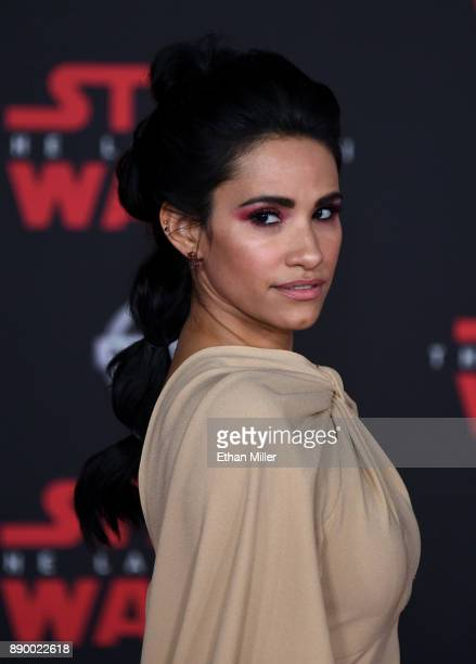 Actress Tiffany Smith attends the premiere of Disney Pictures and Lucasfilm's 'Star Wars The Last Jedi' at The Shrine Auditorium on December 9 2017...