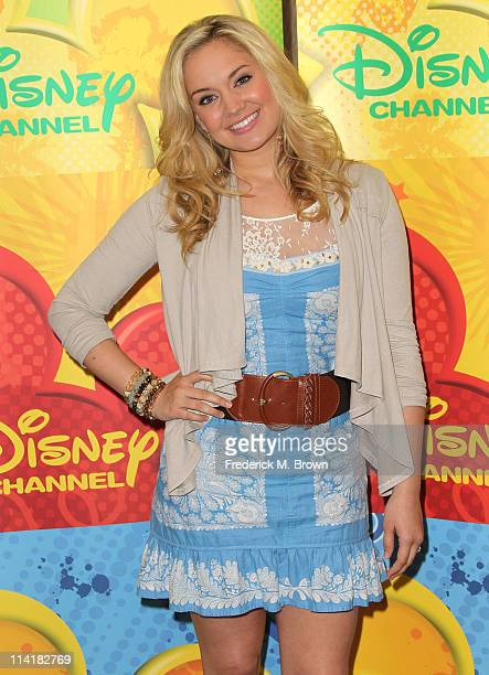 Actress Tiffany Thornton attends the Disney ABC Television Group Host May Press Junket 2011 at ABC Studios on May 14 2011 in Burbank California