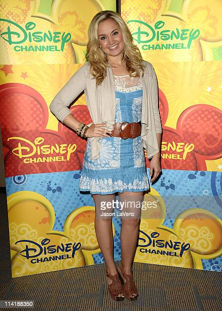 Actress Tiffany Thornton attends the Disney ABC Television Group May press junket on May 14, 2011 in Burbank, California.