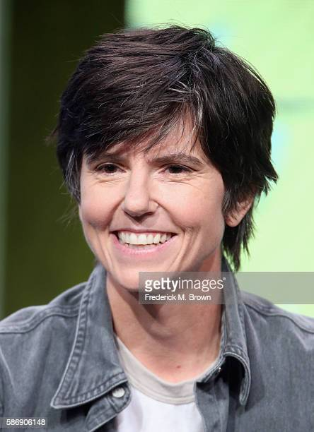 Actress Tig Notaro speaks onstage at the 'One Mississippi' panel discussion during the Amazon portion of the 2016 Television Critics Association...