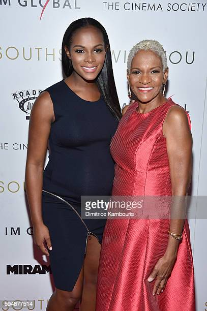 Actress Tika Sumpter and her mother Janice Acquista attend the Cinema Society screening of Southside With You hosted by Miramax Roadside Attractions...