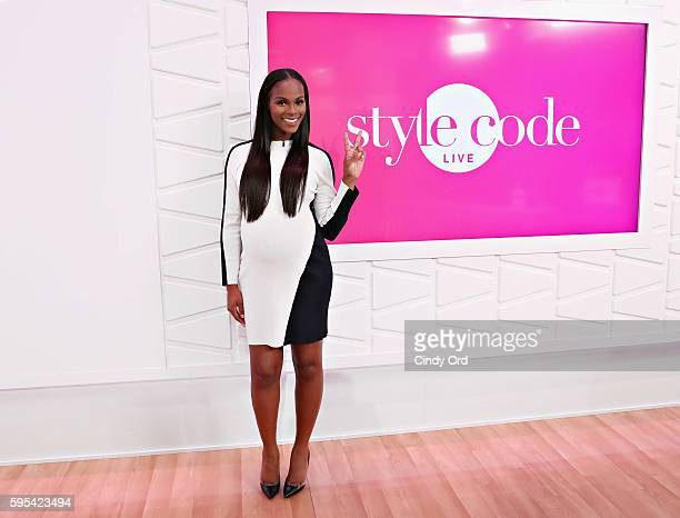 Actress Tika Sumpter appears on Amazon's Style Code Live on August 25 2016 in New York City