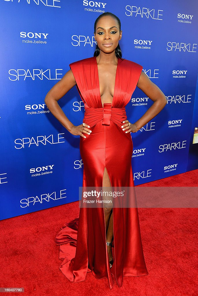 "Premiere Of Tri-Star Pictures' ""Sparkle"" - Red Carpet : News Photo"