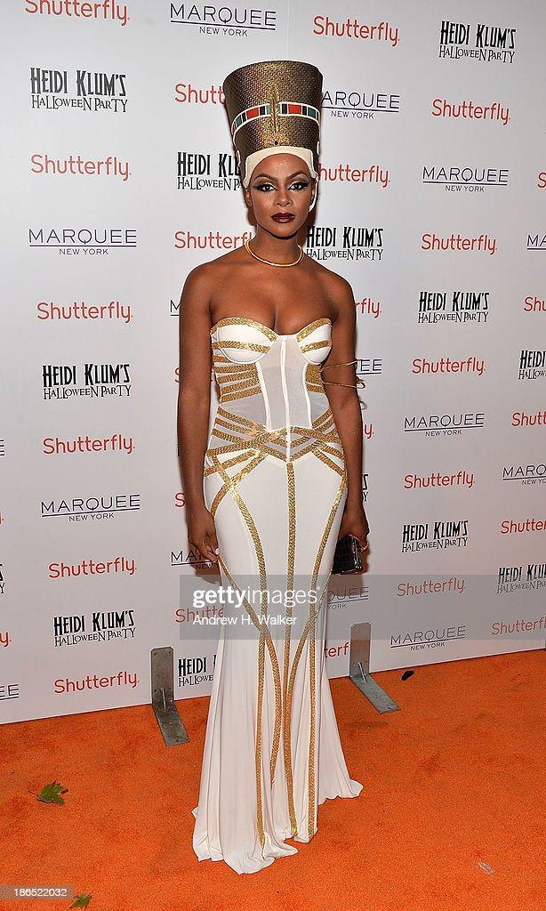 Actress Tika Sumpter attends Heidi Klum's Halloween presented by Shutterfly at Marquee on October 31, 2013 in New York City.