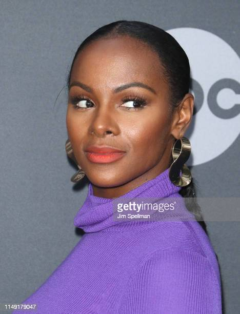 Actress Tika Sumpter attends the 2019 Walt Disney Television Upfront at Tavern On The Green on May 14 2019 in New York City