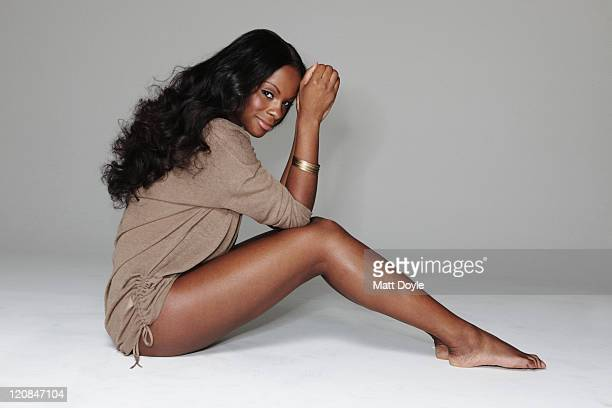Actress Tika Sumpter poses for the June 2011 Vibe in New York City