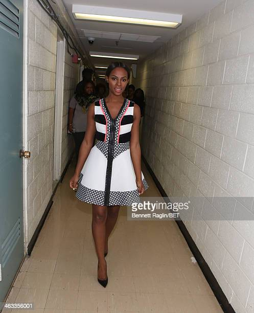 Actress Tika Sumpter visits 106 Park at BET studio on January 16 2014 in New York City