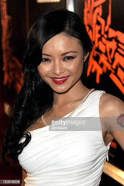 Actress Tila Nguyen arrives at the Los Angeles premiere of CBS Films' 'The Mechanic' held at the ArcLight Hollywood on January 25 2011 in Hollywood...