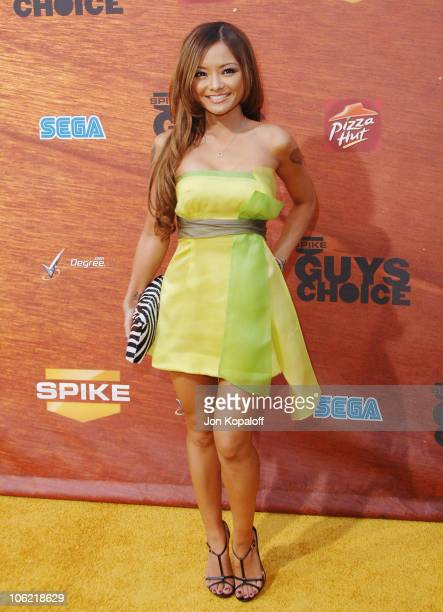 Actress Tila Tequila arrives at Spike TV's 2nd Annual 'Guys Choice' Awards at Sony Studios on May 30 2008 in Culver City California