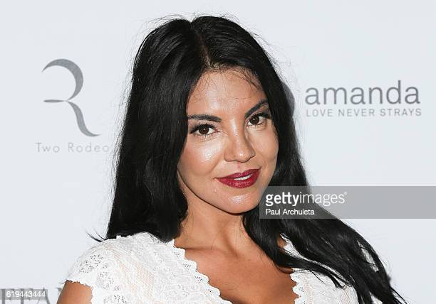 Actress Tilda del Toro attends Amanda Foundation's annual Rodeo Drive fundraiser at Via Rodeo at Two Rodeo Drive on October 30 2016 in Beverly Hills...