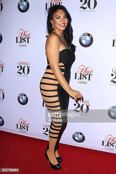 Actress Tilda Del Toro attends Latina Magazine's 20th Anniversary Event Celebrating Hollywood Hot List Honorees at STK Los Angeles on November 2 2016...