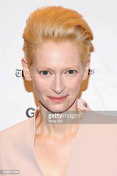 Actress Tilda Swinton attends the 24th Annual Gotham Independent Film Awards at Cipriani Wall Street on December 1 2014 in New York City
