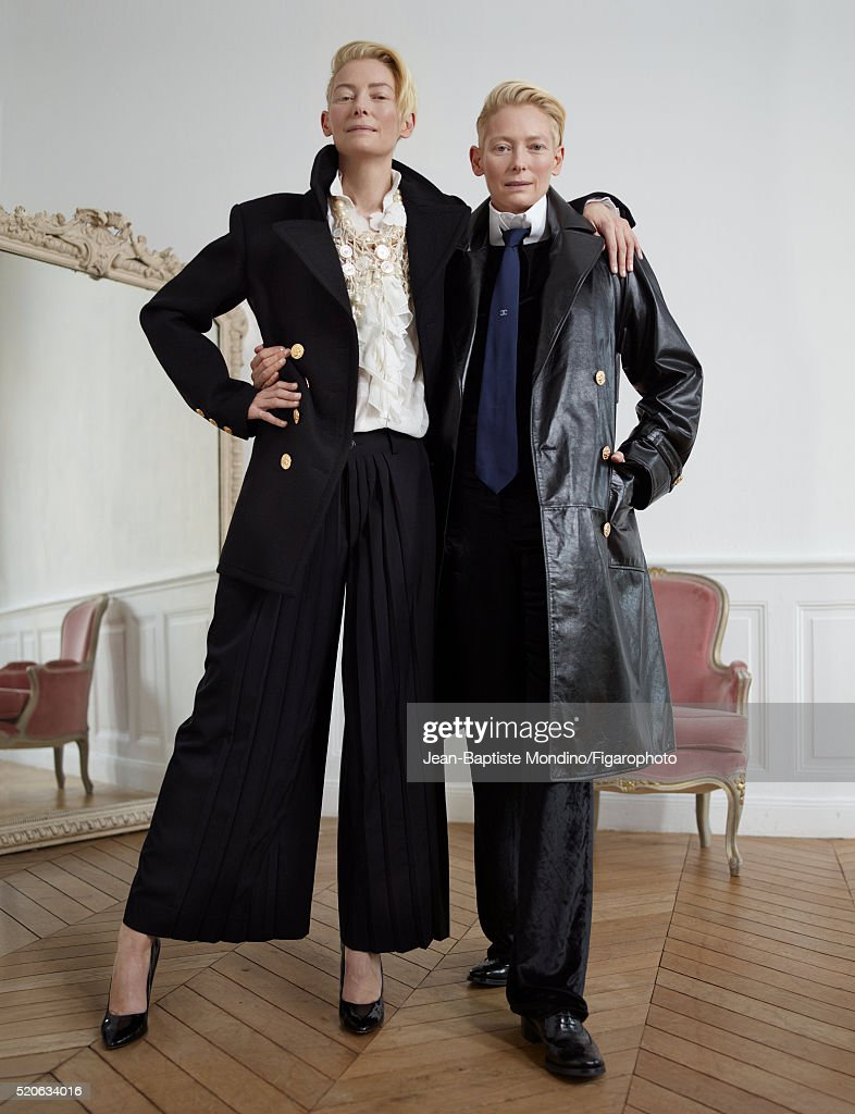 Tilda Swinton, Madame Figaro, March 25, 2016