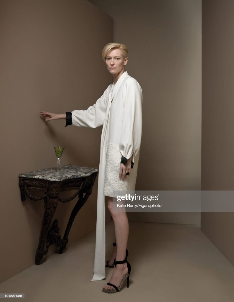 Tilda Swinton, Madame Figaro, September 18, 2010