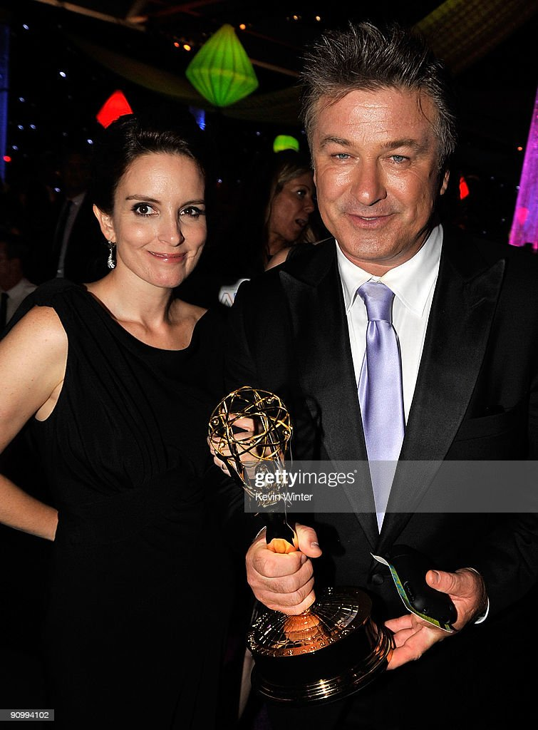 Actress Tina Fey and actor Alec Baldwin attend the Governors Ball for the 61st Primetime Emmy Awards held at the Los Angeles Convention Center on September 20, 2009 in Los Angeles, California.