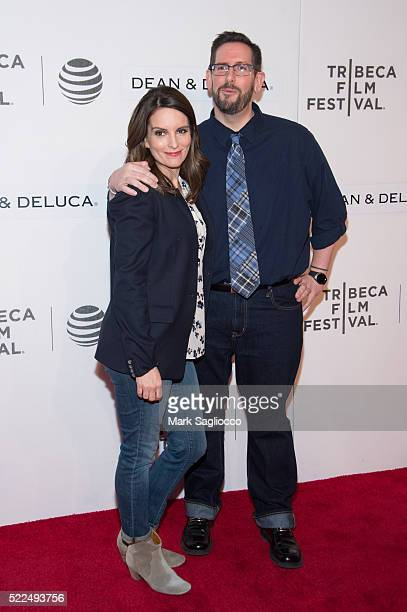 Actress Tina Fey and TV Guide Writer Damian Holbrook attend the Tribeca Talks Storytellers Tina Fey With Damian Holbrook during the 2016 Tribeca Film...