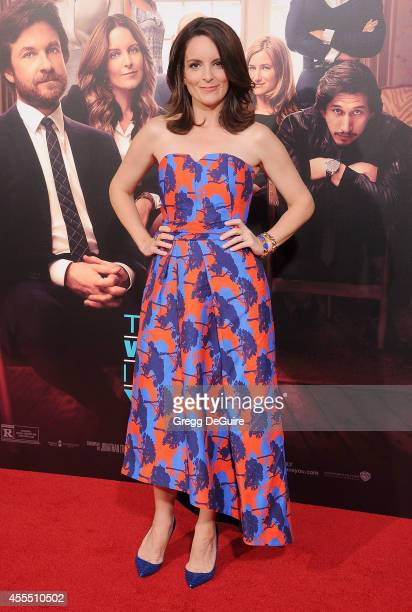Actress Tina Fey arrives at the Los Angeles premiere of 'This Is Where I Leave You' at TCL Chinese Theatre on September 15 2014 in Hollywood...