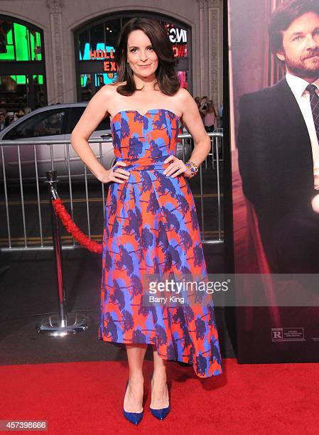 Actress Tina Fey arrives at the Los Angeles Premiere 'This Is Where I Leave You' at TCL Chinese Theatre on September 15 2014 in Hollywood California