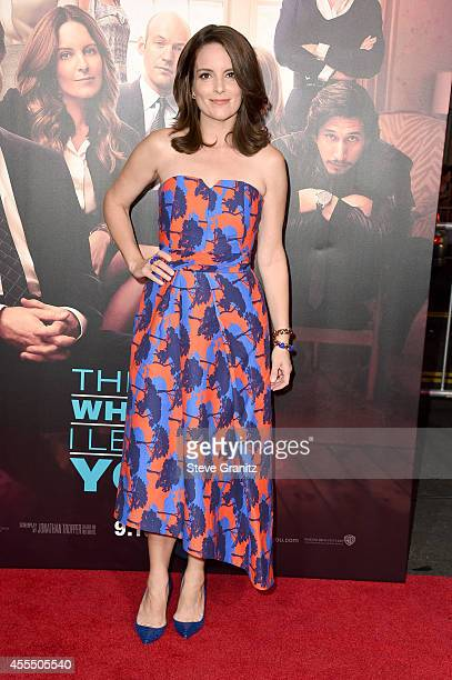 Actress Tina Fey arrives at the This Is Where I Leave You premiere at TCL Chinese Theatre on September 15 2014 in Hollywood California