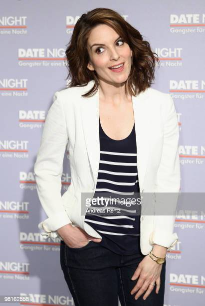 Actress Tina Fey attends a photocall to promote the new movie 'Date Night' at Hotel de Rome on March 31 2010 in Berlin Germany